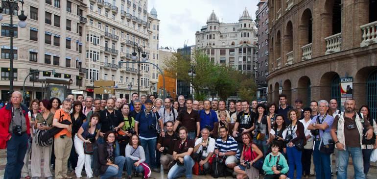 Exito de participación en el photowalk realizado en Valencia