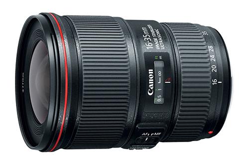 Nuevos objetivos Canon 16-35 mm f4 para formato completo y 10-18 mm para réflex APS-C