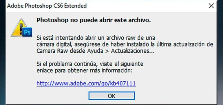 ¿Por qué no puedo abrir en el ordenador los RAW de mi cámara?
