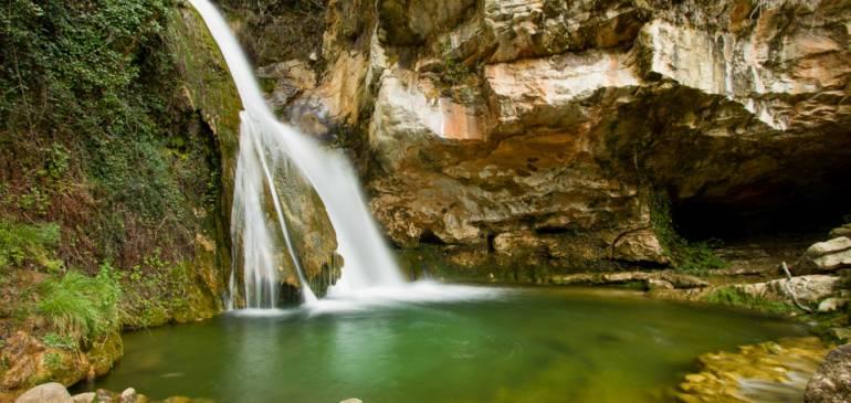 La cascada del río Carbo