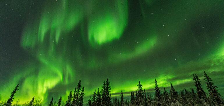 Cómo fotografiar una aurora boreal y no morir en el intento