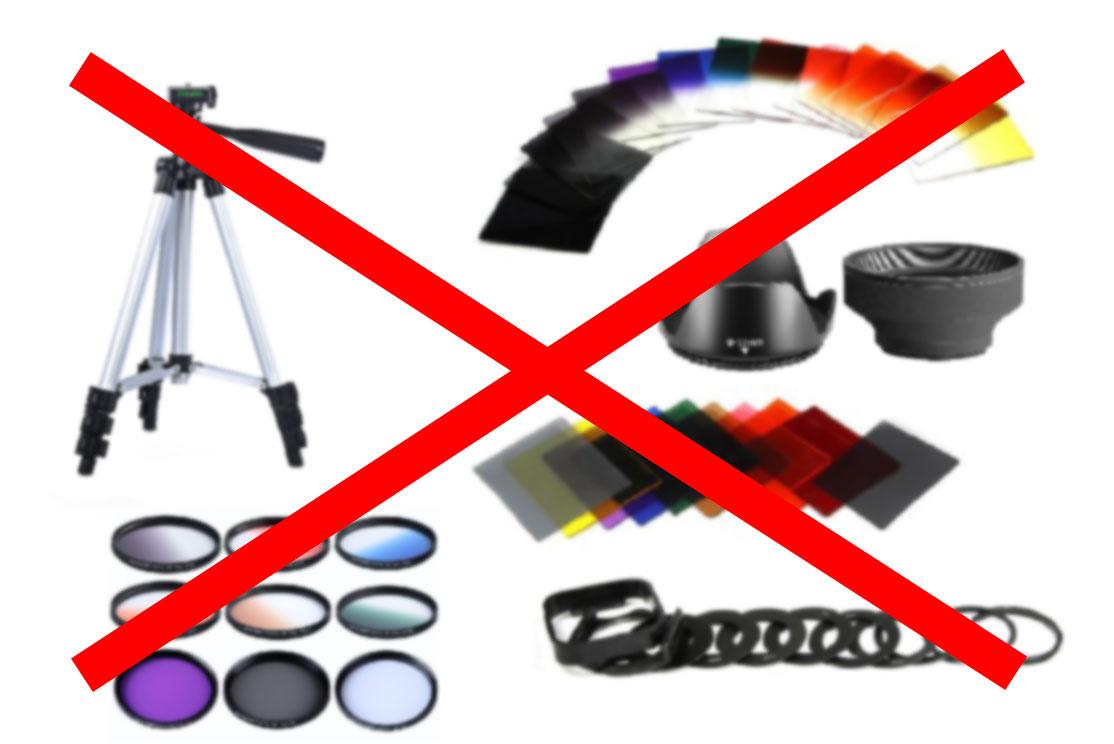 Compras inútiles para aficionados a la fotografía