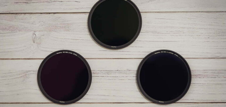 Cómo enfocar, encuadrar y medir la luz con un filtro ND