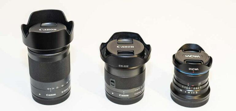 Guía de compra de objetivos para Canon sin espejo de formato APS-C
